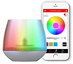 MiPow Universal Playblub Candle Bluetooth Smart LED Color Light - (Pack of 1)