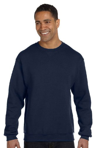 Russell Athletic Dri-Power Fleece Crew, Medium, J NAVY