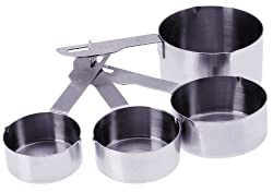 Prepworks from Progressive BA-3500 Stainless Steel 4-Piece Measuring Cups Set