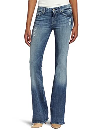 7 For All Mankind Women's Petite A Pocket Flip Flop Jean in Authentic Nakita, Authentic Nakita, 26