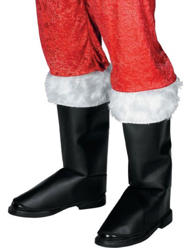 Costume-Footwear Santa Boot Cover Christmas Costume - 1 size