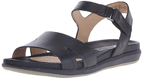 Naturalizer Women's Selma Flat Sandal, Black, 7 M US (Naturalizer Womens Sandals compare prices)