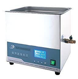 YJ 10L Dental Ultrasonic Cleaner YJ-5200DTD with Timer and Heater 110V