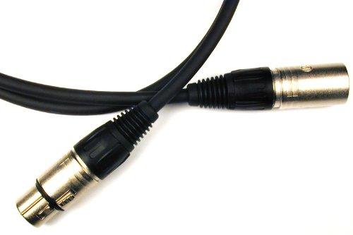 Conquest Sound Opmicn 50 50-Foot Super Hi Definition Quad Loz - Neutrik Xlrf/Xlrm Microphone Cable