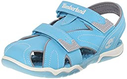 Timberland Kids Unisex Adventure Seeker Closed Toe Sandal (Toddler/Little Kid/Big Kid) ,Lite Blue,5 M US Big Kid