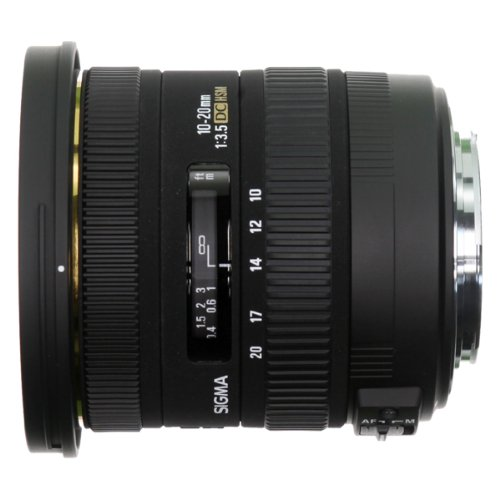 Sigma 10-20mm f3.5 EX DC HSM Lens for Sony Digital SLR Cameras with APS-C Sensors