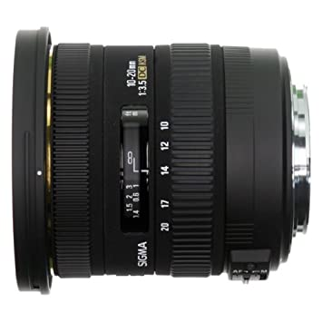 Sigma Objectif 10-20 mm F3,5 EX DC HSM - Monture Sigma
