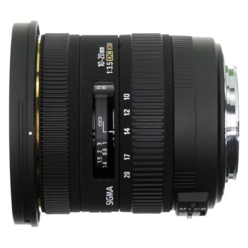 Sigma 10-20mm F3.5 Ex Dc Hsm Lens For Sigma Digital Slr Cameras With Aps-c Sensors