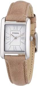 Fossil Damen-Armbanduhr Florence Analog Quarz Leder ES3374
