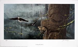 """Calling the Elders"" Bald Eagle Print Jon Van Zyle"