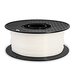 Aspectek 3D Printer PLA Filament 1.75mm 2.2lbs - White - Compatible with Printrbot, MakerBot, MakerGear and Many Other Printers from Aspectek