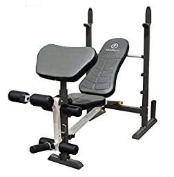 Marcy Folding Standard Weight Bench - Easy Storage
