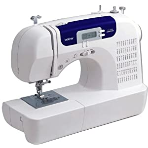 Brother CS6000I 60-Stitch Computerized Free-Arm Sewing Machine with Multiple=