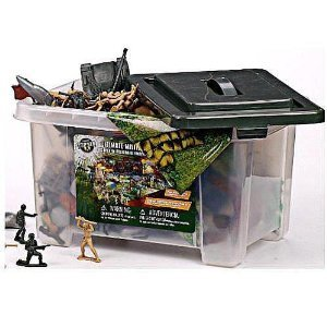 Buy Low Price Geoffrey True Heroes Military Land & Sea Playset Figure (B002LZLV28)