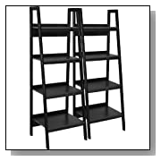 Set of 2 Ladder Bookcase