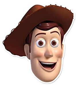 Amazon.com: Toy Story Woody - Card Face Mask: Toys & Games