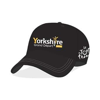 Official Yorkshire Grand Départ Cap (Black)