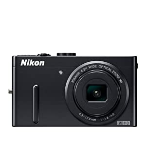 Nikon Coolpix P300 (Black) with 4 GB SD Card + Camera Pouch
