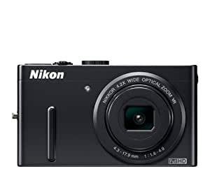 Nikon COOLPIX P300 12.2 CMOS Digital Camera with 4.2x f/1.8 NIKKOR Wide-Angle Optical Zoom Lens and Full HD 1080p Video (Black)