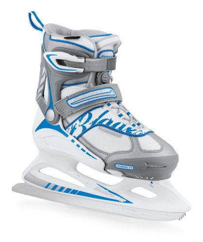 Bladerunner Micro XT Girls 4 Size Recreational Ice Skate with Toe-Pick