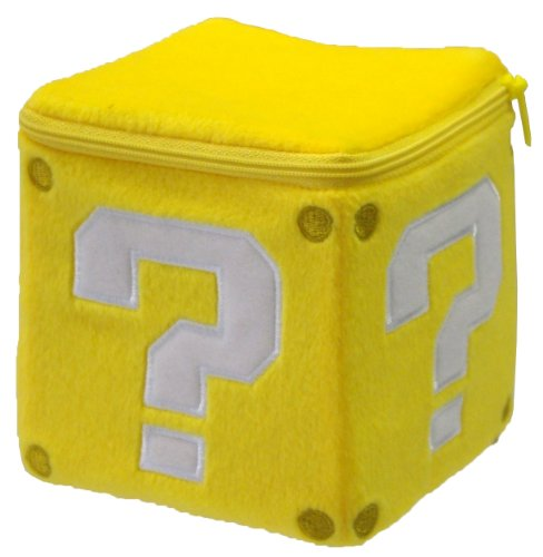 "Little Buddy Official Super Mario Coin Box 5"" Plush"