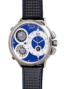 Curtis & Co. Big Time World 57mm Blue Dial Swiss Made Numbered Limited Edition Watch