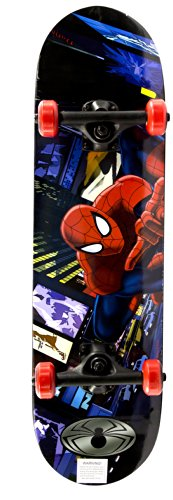 Buy Discount Spiderman Kid's First Complete Skateboard (Spider Hero)