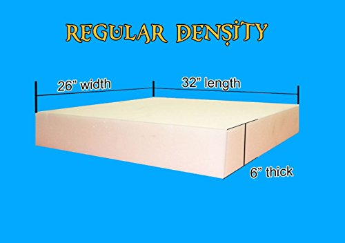 "Cheap Foam Padding 6"" X 26"" X 32"""