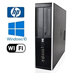 HP 8000 Elite Desktop - Intel Core 2 Duo 2.93GHz - *NEW* 1TB HDD - 4GB DDR3 - Windows 10 Pro 32-Bit - WiFi - DVD-RW (Prepared by ReCircuit)