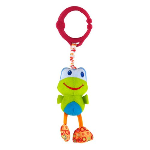 Bright Starts Take 'n Shake Pull Toy - Frog - 1