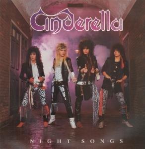 CINDERELLA - Night Songs - LP