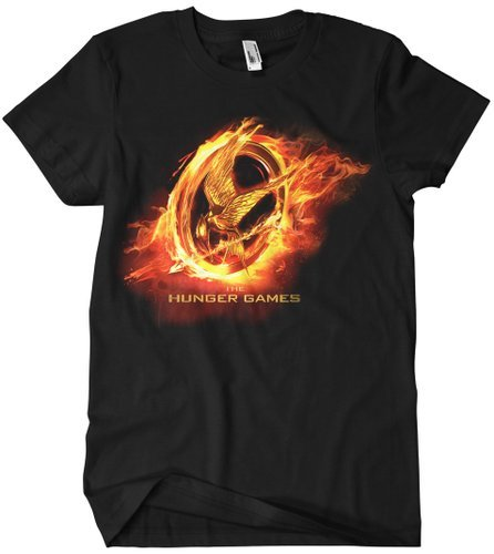 The Hunger Games Black T Shirt XXL Men