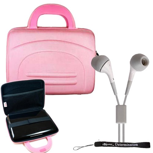 Sony Dvpfx950 9-Inch Portable Dvd Player Hard Nylon Traveling Case + Determination Hand Strap + Noise Cancelling Earphone In Ear