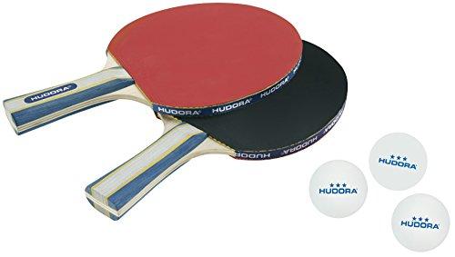 Hudora-Tischtennisset-New-Contest-20-Wei-40-mm-76245