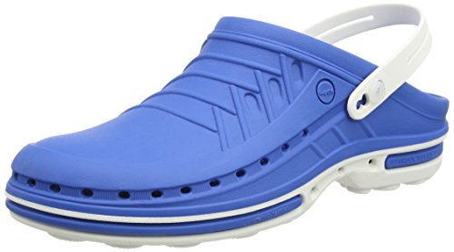 Wock - Wock Clog, Zoccolo, unisex, blu (weiss/medium blue), 41/42