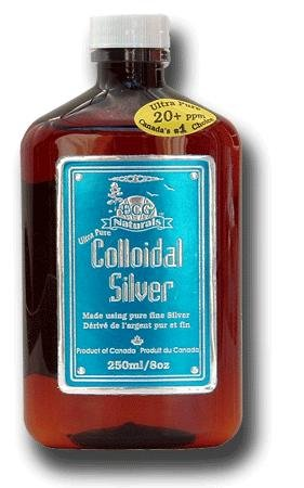 Colloidal Silver liquid 20ppm 250ml (8.3 oz) (Super Silver Solution is out of stock. We recommend this replacement (8oz) Brand: International Health
