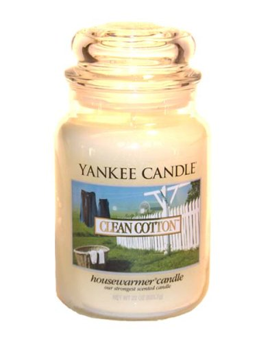 Yankee Candle Clean Cotton Large Jar 22oz Candle