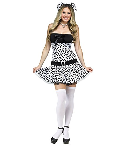 Sexy Dalmatian Dog Women Costume