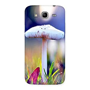 Ajay Enterprises White Mashroom Back Case Cover for Galaxy Mega 5.8