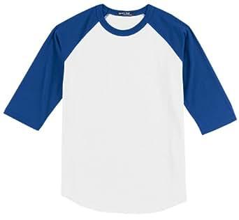 Sport-Tek raglan sleeve men's or youth baseball t-shirt