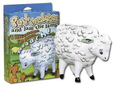 Aufblasbares Schaf Pull The Wool Mit Sound bei aufblasbar.de
