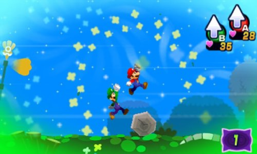 Mario and Luigi: Dream Team Bros.  screenshot