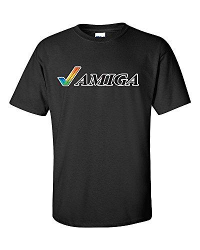 Not Just Nerds Commodore Amiga Tick Logo T-Shirt for Men.
