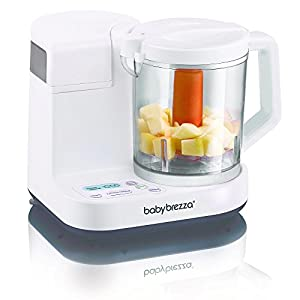 Baby Brezza Glass One Step Baby Food Maker - White from Baby Brezza