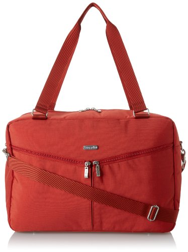 Baggallini Transport Carryall, Tomato, One Size