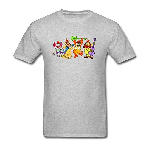 Niceda Men's The Banana Splits Short Sleeve T Shirt Grey (Banana Split I compare prices)