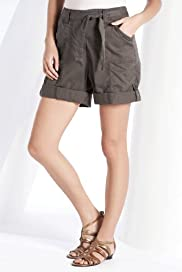 Pure Cotton Turn Up Shorts [T54-7400-S]