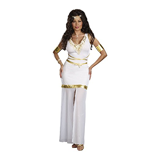 [Goddess of Love Aphrodite Costume - Plus Size 1X/2X - Dress Size 16-18] (Dreamgirl Goddess Of Love Aphrodite Costume)