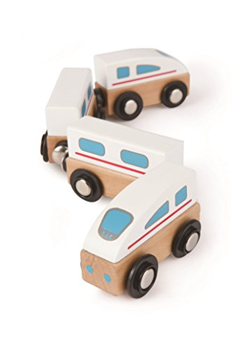 Hape Qubes - Magnetic Bullet Train Toy - 1