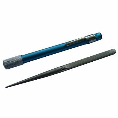 BlizeTec Knife Sharpener: Best 3-in-1 Tactical Portable Pocket Size Pen Shape Knife Sharpener Kit by BlizeTec